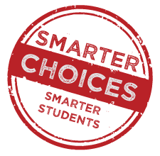 smarter choices smarter students stamp
