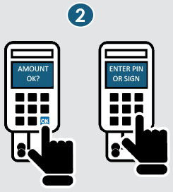 How to use your EMV card at point of purchase image 2