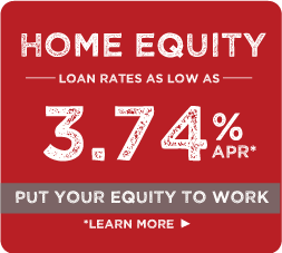 Home equity loan rates as low as 3.74%apr, put your equity to work