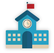 School branch program icon