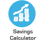 savings calculator icon
