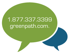 Greenpath phone number, greenpath email address icon