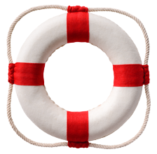 Life insurance life preserver image